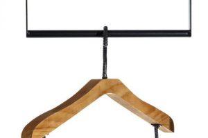 Separador de ambientes biombo de madera Factory Lola Home perchero percha madera