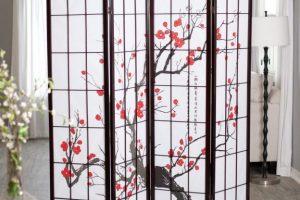 Biombo japones pantalla shoji 2019 baratos